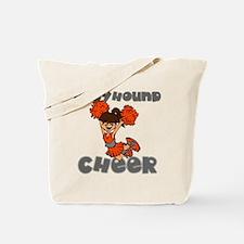 GREYHOUND CHEER (6) Tote Bag