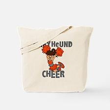 GREYHOUND CHEER (5) Tote Bag