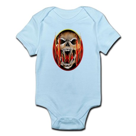 Flaming Insanity Infant Bodysuit