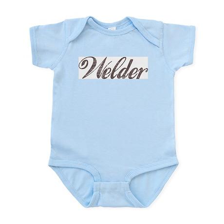 Vintage Welder Infant Creeper