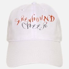 GREYHOUND CHEER (3) Baseball Baseball Cap
