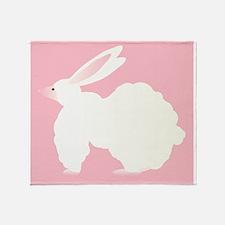 Big Bulky Bubble Bunny Bobbi Throw Blanket