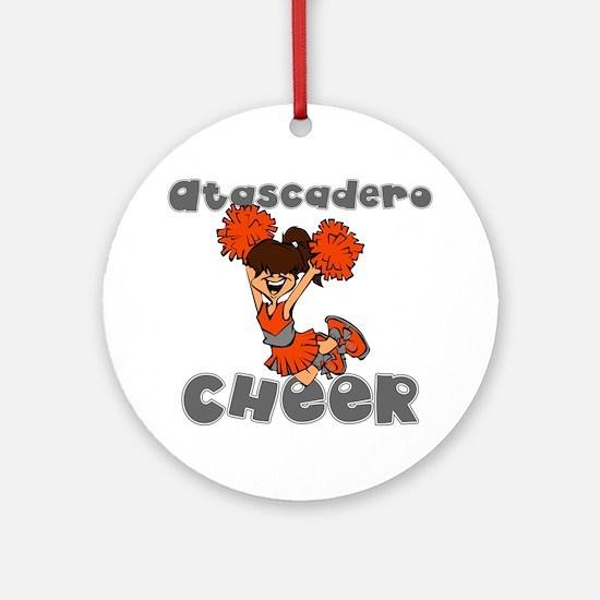 ATASCADERO CHEER (7) Ornament (Round)