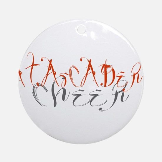 ATASCADERO CHEER (5) Ornament (Round)