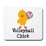 Volleyball Chick Mousepad