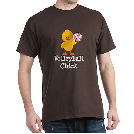 Volleyball Chick Dark T-Shirt