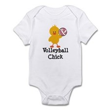 Volleyball Chick Infant Bodysuit