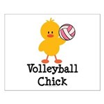 Volleyball Chick Small Poster