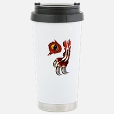 Red Dragon Hiding Stainless Steel Travel Mug