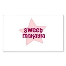 Sweet Makayla Rectangle Decal