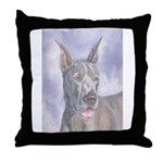Throw Pillow Great Dane