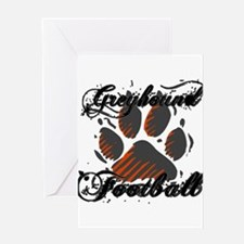 GREYHOUND FOOTBALL (7) Greeting Card