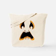 Pumpkin Faces Tote Bag