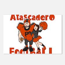 ATASCADERO FOOTBALL (2) Postcards (Package of 8)