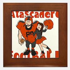 ATASCADERO FOOTBALL (2) Framed Tile