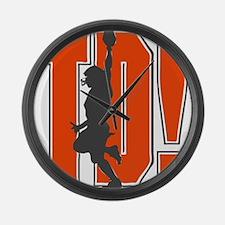 TD! Large Wall Clock