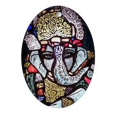 Ganesh Ornament (Oval)