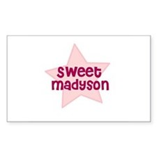 Sweet Madyson Rectangle Decal