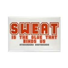 SWEAT Rectangle Magnet