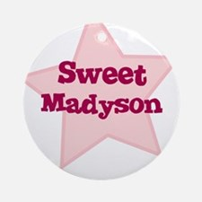 Sweet Madyson Ornament (Round)