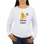 Soccer Chick Women's Long Sleeve T-Shirt