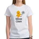 Soccer Chick Women's T-Shirt