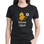 Soccer Chick Women's Dark T-Shirt