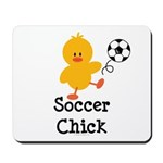 Soccer Chick Mousepad