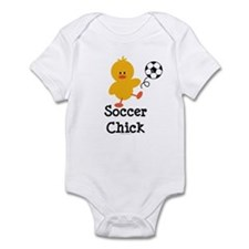 Soccer Chick Infant Bodysuit