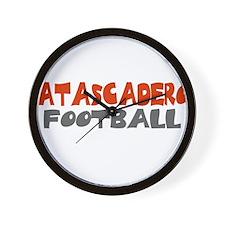 ATASCADERO FOOTBALL (6) Wall Clock