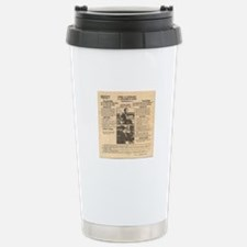 Bonnie & Clyde Stainless Steel Travel Mug