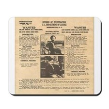 Bonnie & Clyde Mousepad