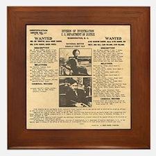 Bonnie & Clyde Framed Tile