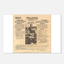 Bonnie & Clyde Postcards (Package of 8)