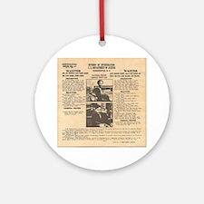 Bonnie & Clyde Ornament (Round)