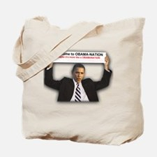 Welcome Obamanation Tote Bag