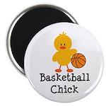 Basketball Chick Magnet