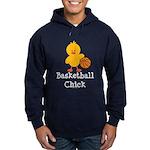 Basketball Chick Hoodie (dark)