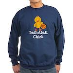 Basketball Chick Sweatshirt (dark)