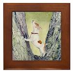 Framed Tile Jack Russell