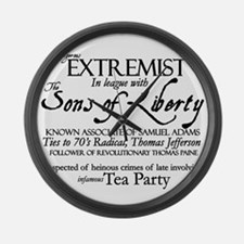 Dangerous Extremist! Large Wall Clock
