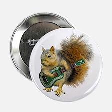 """Squirrel Ukulele 2.25"""" Button"""