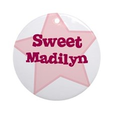 Sweet Madilyn Ornament (Round)