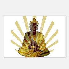 Riyah-Li Designs Vintage Buddha Postcards (Package