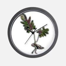 Cute Shrubs Wall Clock