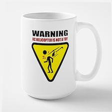 Caution Large Mug