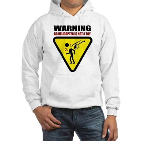 Caution Hooded Sweatshirt