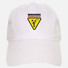 Caution Baseball Baseball Cap