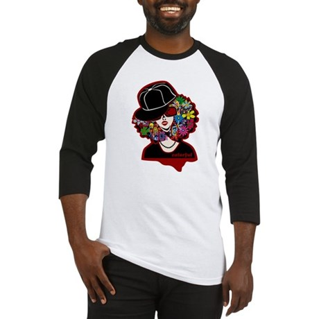 colorful diva Baseball Jersey