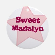 Sweet Madalyn Ornament (Round)